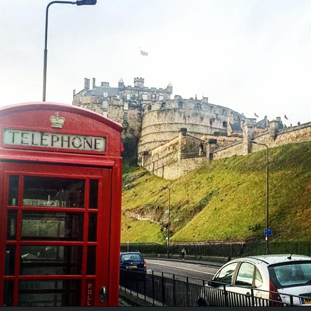 Edinburgh Castle 20 Something Detour