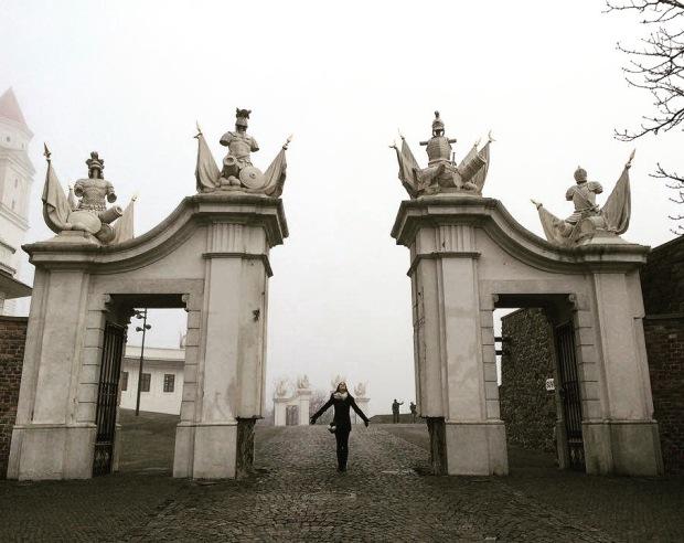Bratislava castle 20 something detour