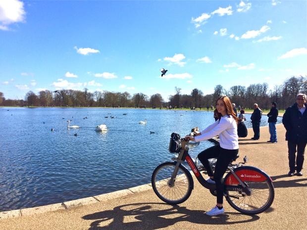 bike hyde park wanderlust