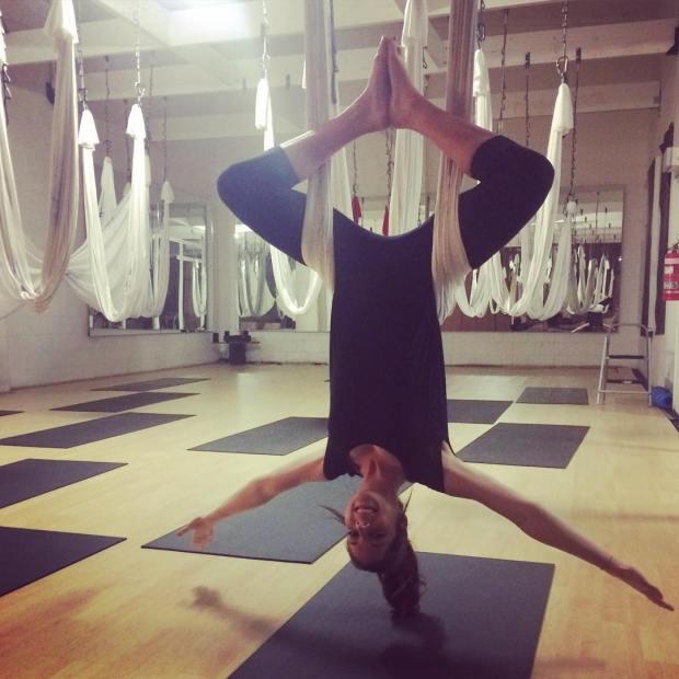 anti gravity yoga london travel