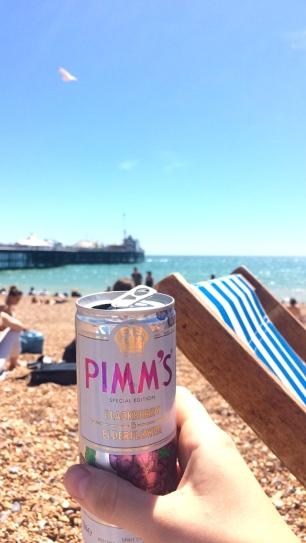 pimms london beach