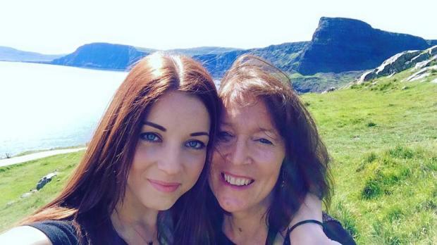 mum daughter isle of skye travel