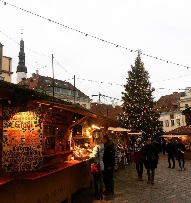Christmas markets Tallinn old town